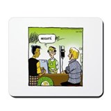 Pardon my planet comics Mousepad