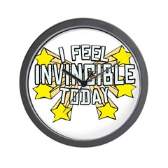 Stars of Invincibility Wall Clock