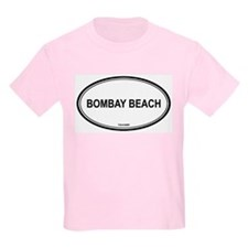 Bombay Beach oval Kids T-Shirt