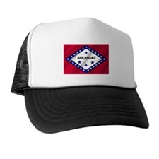 Arkansas State Flag Trucker Hat