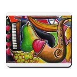 Jazz and Dessert Mousepad