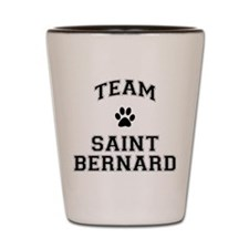 Team Saint Bernard Shot Glass