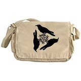 Raven Triskel Messenger Bag