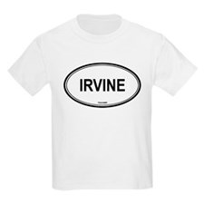 Irvine oval Kids T-Shirt