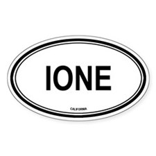 Ione oval Oval Decal