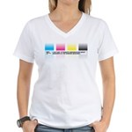 Gradients Women's V-Neck T-Shirt