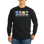 Gradients Long Sleeve Dark T-Shirt