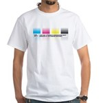 Gradients White T-Shirt