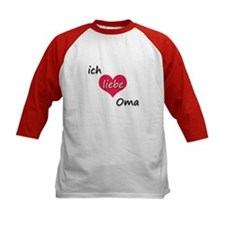 ich liebe Oma I love grandma in German Tee