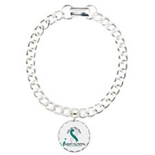 With All My Heart Cervical Cancer Bracelet