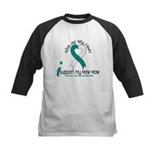 With All My Heart Cervical Cancer Tee