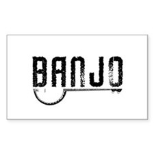 Retro Banjo Decal