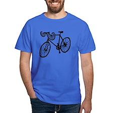 Mustache Bike T-Shirt