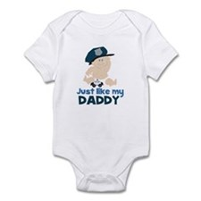 Baby Cop Just like My Daddy Police Infant Bodysuit