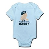 Baby Cop Just like My Daddy Police Onesie