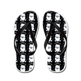 Samoyed All About Me Formal Affair Flip Flops