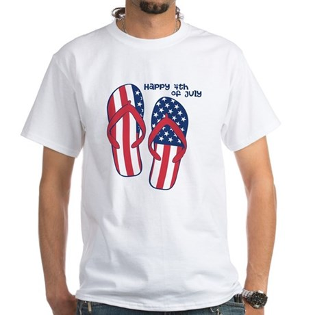 Flip Flop 4th of July T-Shirt