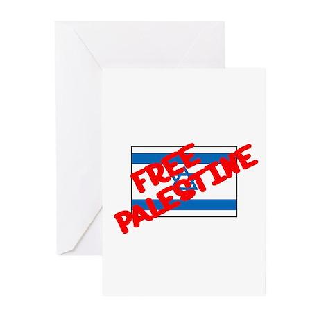 Free Palestine Greeting Cards (Pk of 10)