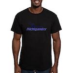 Michigander Men's Fitted T-Shirt (dark)