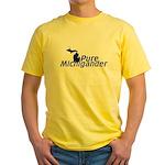 Michigander Yellow T-Shirt