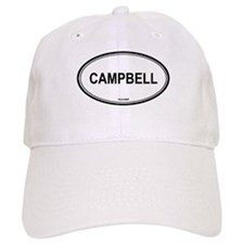 Campbell oval Baseball Cap