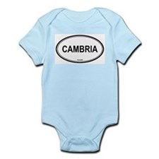Cambria oval Infant Creeper