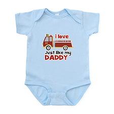 I love Firetrucks (just like Daddy) Onesie
