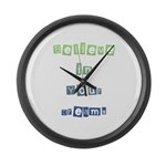 Believe in Your Dreams Large Wall Clock