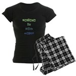 Believe in Your Dreams Women's Dark Pajamas