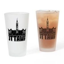 Ottawa Skyline Drinking Glass