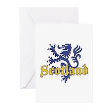 Scotland Lion  Greeting Cards (Pk of 10)