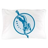 Scuba Diver Diving Retro Pillow Case