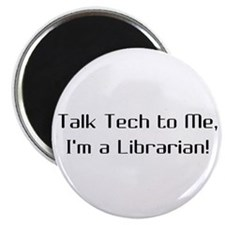 "Talk Tech 2 2.25"" Magnet (100 pack)"