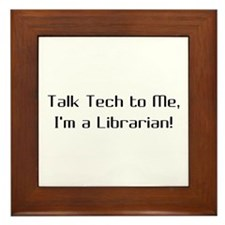 Talk Tech 2 Framed Tile