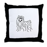 Cute Coolie Throw Pillow