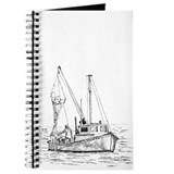Fishing Boat Sketch Journal