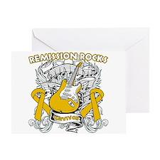 Remission Rocks Appendix Cancer Greeting Card