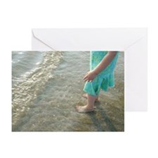 """Little Feet"" Greeting Cards (Pk of 10)"