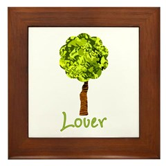 Tree Lover Framed Tile