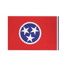Tennessee State Flag Rectangle Magnet (10 pack)