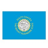 South Dakota State Flag Postcards (Package of 8)