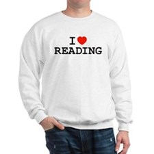 I Heart Reading Sweatshirt