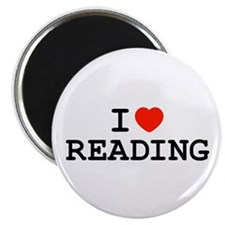 "I Heart Reading 2.25"" Magnet (10 pack)"