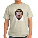 Elroy Police Ash Grey T-Shirt