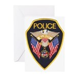 Elroy Police Greeting Cards (Pk of 10)