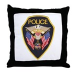 Elroy Police Throw Pillow