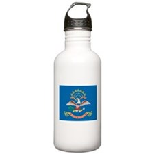 North Dakota State Flag Water Bottle