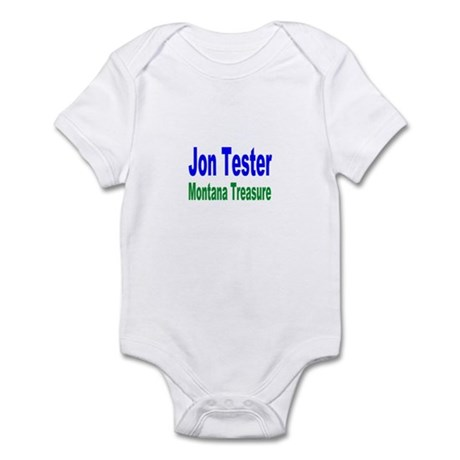 Jon Tester, Montana Treasure Infant Creeper