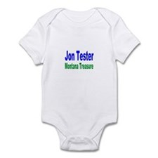 Jon Tester, Montana Treasure Infant Creeper
