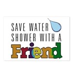 Shower with a Friend Postcards (Package of 8)